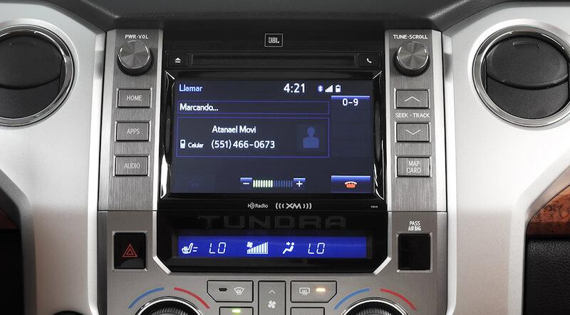 Tundra Sistema de audio
